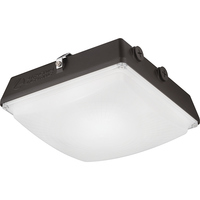 6600 Lumens - LED - Canopy Light - 52 Watt - 400 Watt Metal Halide Equal - 5000 Kelvin - Includes Mounting Bracket - 120-277V - Lithonia CNY