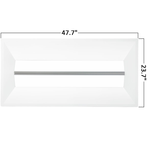 2 x 4 LED Recessed Troffer - 90 Minute Emergency Backup Image