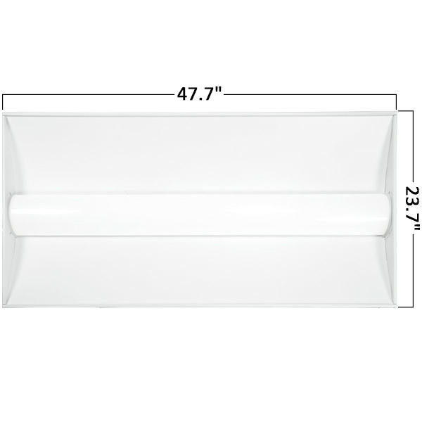2 x 4 LED Recessed Troffer - 5200 Lumens Image