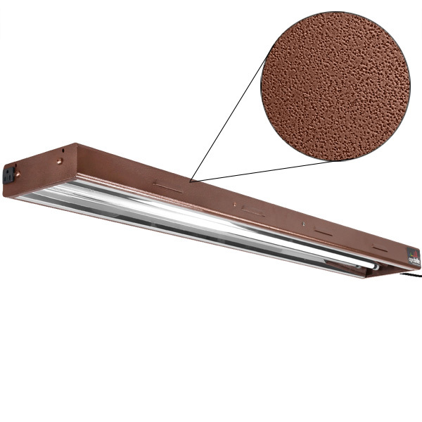 4 ft. - 2 Lamp - F54T5-HO - Fluorescent Grow Light Fixture Image