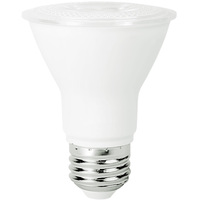 500 Lumens - 2700 Kelvin - LED - PAR20 - 7 Watt - 50W Equal - 40 Deg. Flood - Color Corrected - 90+ Lighting SE-RCD11.1407G