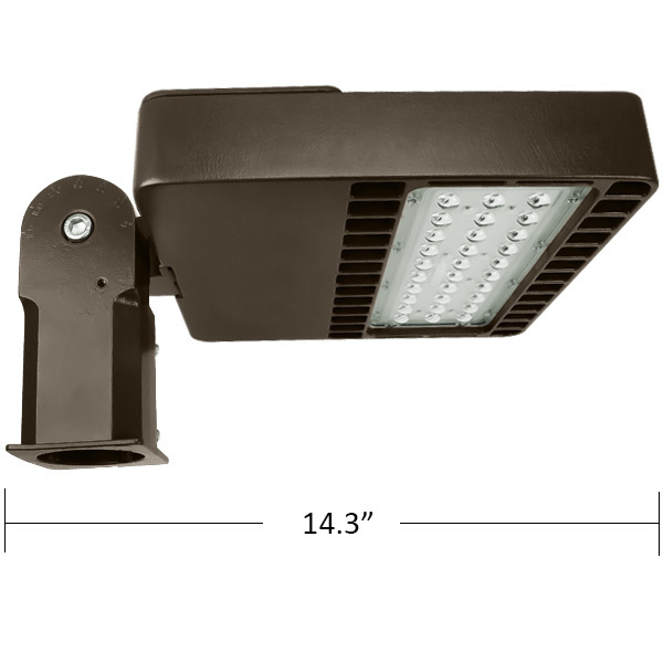LED Flood Light Fixture Fixture - 2400 Lumens Image
