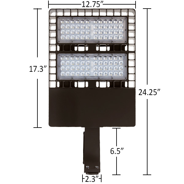 24,000 Lumens - LED Parking Lot Area Light Image