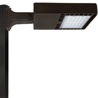 18,000 Lumens - 4000 Kelvin - 150 Watt - LED Parking Lot Fixture - Type III - 120-277V - Comes with Extruded Mounting Arm - Equal to a 400W Metal Halide and Uses 63% Less Energy