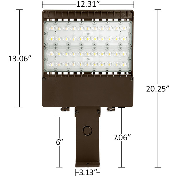 LED Parking Lot Fixture Image
