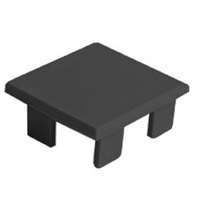 LIPOD End Cap - for Tape Light Channel - Black - Klus 24263