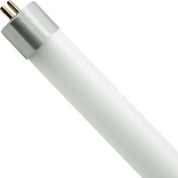 2 ft. T5 LED Tube - 1400 Lumens - 12 Watt - 3500 Kelvin - 120-277V - Ballast Must Be Bypassed - Single-Ended Power Must Use a Non-Shunted Socket - Satco S8693