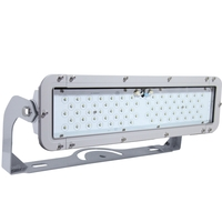 18,900 Lumens - LED Flood Fixture - 180 Watt - 5000 Kelvin - Height 7.4 in. - Width 21.4 in. - 120-277V - MaxLite 74541