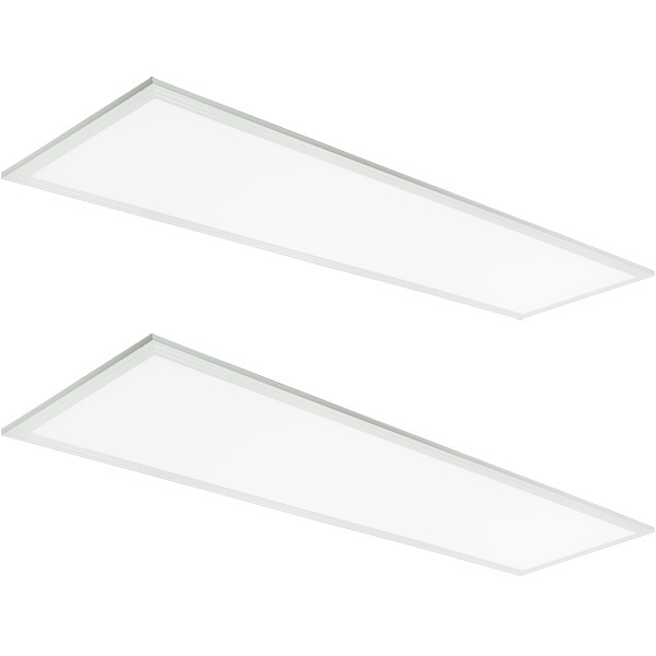 1x4 Ceiling LED Panel Light - 4400 Lumens - 40 Watt Image
