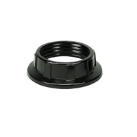 Socket Replacement Ring - Phenolic - Candelabra (E12) - For use with PLT 45-2554-99 - Black - Pack of 10 - PLT 45-2551-99