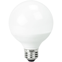 LED - 3.1 in. Dia. Globe - 5 Watt - 40 Watt Equal - Incandescent Match Color - 350 Lumens - 2700 Kelvin - Medium Base - 120 Volt - TCP LED5G25D27KF
