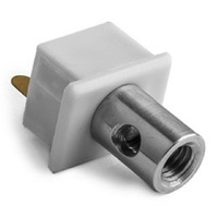 Conductive End Cap for Mounting Channel - PDS4 - ALU LED Profile - For LED Tape Light and Strip Light - Klus 1407