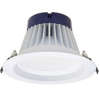 2000 Lumens - 8 in. Retrofit LED Downlight - 24W - 200W Equal - 3500 Kelvin - Smooth Baffle Trim - Dimmable - 120-277V - SYLVANIA 74467