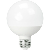 450 Lumens - 6W - 60W Equal - LED G25 Globe - 3.13 in. Diameter - 4000 Kelvin - Frosted - Medium Base - Dimmable - 120V - Satco S9202