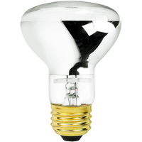100 Watt - R20 Incandescent Light Bulb - Clear - Medium Brass Base - 12 Volt - Halco 104020
