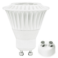 550 Lumens - 4100 Kelvin - LED MR16 - 7 Watt - 50W Equal - 20 Deg. Narrow Flood - CRI 82 - Dimmable - 120V - GU10 Base - TCP LED7MR16GU1041KNFL