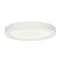 9 in. LED Round Ceiling Fixture - 18.5 Watt - 1300 Lumens -  100W Incandescent Equal - 4000 Kelvin - Dimmable - 120V - 5 Year Warranty - Satco S21514