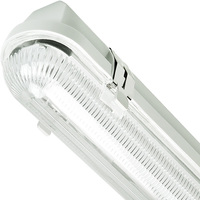 1700 Lumens - 4 ft. LED Vapor Tight Fixture - 23 Watt - 4000 Kelvin - Clear Lens - IP65 Rated - 120V - 5 Year Warranty - Lithonia XWLED4