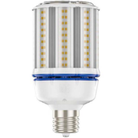 7550 Lumens - 54 Watt - LED Corn Bulb - 250W Metal Halide Equal - 4000 Kelvin - Mogul Base - 120-277V - 5 Year Warranty - Green Creative 98091