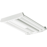18,000 Lumens - LED High Bay - 112 Watt - 4000 Kelvin - Length 25.6 in. x Width 20.71 in. - 120-277V - Lithonia IBG