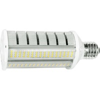 6000 Lumens - 40 Watt - LED Wall Pack Retrofit Lamp - 175W MH Equal - 5000 Kelvin - Mogul Base - Horizontal Mount - Operates by Bypassing Existing Ballast - 120-277V - 5 Year Warranty