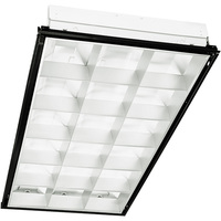 Parabolic Fluorescent Troffer - 3 Lamp - F32T8 - Length 48 in. x Width 24 in. - 120-277 Volt -  2 Year Warranty