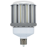 10,640 Lumens - 80 Watt - LED Corn Bulb - 320W Metal Halide Equal - 5000 Kelvin - Mogul Base - 120-277V - 5 Year Warranty