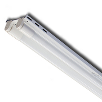 4ft. x 5in. - LED Ready Retrofit Kit for Fluorescent Strip Fixture - Operates (2) 4