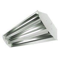 4 Lamp - F54T5 - High Output - Fluorescent High Bay - Full Specular Mirror Reflector - 120-277V - Lamps Sold Separately
