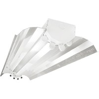 4 Lamp - F54T5 - High Output - Fluorescent High Bay - 86% Specular Reflector - 120-277V - Lamps Sold Separately - Pack of 4