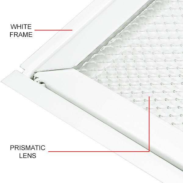 Low Profile Fluorescent Troffer Image