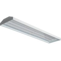 26,400 Lumens - LED High Bay - 200 Watt - 5000 Kelvin - Length 48 in. x Width 16.8 in. - 120-277V - GlobaLux LPHB-416-200-MVD-850
