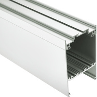 6.56 ft. Anodized Aluminum DES KPL Channel Extrusion - For LED Tape Light and Strip Light - Klus 18030ANODA_2