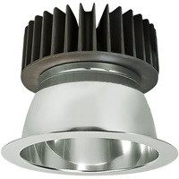 LED Downlight - 6 in. - 3000 Kelvin - 2000 Lumens - 25W - Smooth Baffle Trim - 120-277V
