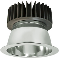 2000 Lumens - 6 in. LED Downlight - 25 Watt - 100 Watt Equal - 5000 Kelvin - Smooth Baffle Trim - 120-277 Volt - PLT-20217