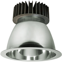 4000 Lumens - 8 in. Retrofit LED Downlight - 40W - 200W Equal - 4000 Kelvin - Smooth Baffle Trim - Dimmable - 120-277V