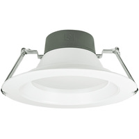 9.5 in. LED Downlight - 23.5, 32, 45 Watt - 3200 Lumens - 3000 Kelvin - Wattage Selectable Fixture - 120-277 Volt - Green Creative 57879