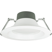 9.5 in. LED Downlight - 23.5, 32, 45 Watt - 3200 Lumens - 4000 Kelvin - Wattage Selectable Fixture - 120-277 Volt - Green Creative 57881