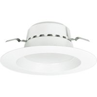 1400 Lumens - 5-6 in. Retrofit LED Downlight - 21W - 120W Equal - 5000 Kelvin - Stepped Baffle Trim - Dimmable - 120V - Euri Lighting DLC-3051e
