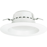 800 Lumens - 5-6 in. Retrofit LED Downlight - 13.5W - 75W Equal - 5000 Kelvin - Stepped Baffle Trim - Dimmable - 120V - Euri Lighting DLC-2050E