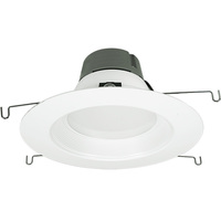 5-6 in. LED Downlight - 18 Watt - 100 Watt Equal - Halogen Match - 1260 Lumens - 3000 Kelvin - 90 CRI - Stepped Baffle Trim - 120V - Green Creative 97995