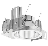 6 in. Downlight - LED - 20 Watt - 100 Watt Equal - 3500 Kelvin - 1500 Lumens - Integrated LED, Housing, Round Trim in White Finish - Dimmable - 120-277V - 5 Year Warranty - Lithonia LDN6