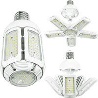 9800 Lumens - LED Corn Bulb - Adjustable Beam Angle - 75 Watt - 400W Metal Halide Equal - 5000 Kelvin - Mogul Extended Base - 120-277V