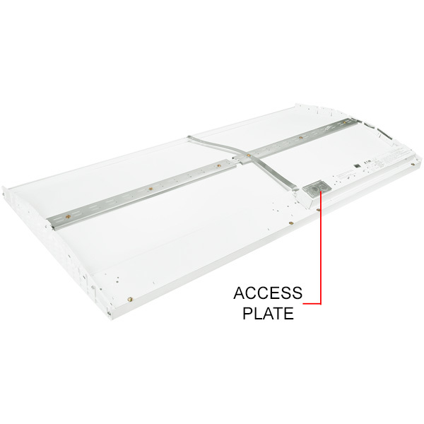 6938 Lumens - 2 x 4 LED Recessed Troffer Image