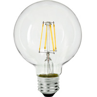 3.15 in. Dia. - LED Globe - 4.5 Watt - 40 Watt Equal - 450 Lumens - 2700 Kelvin - Incandescent Match - Medium Base - 120 Volt - PLT-11356