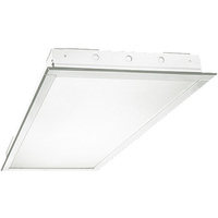 8400 Lumens - 2 x 4 LED Recessed Troffer - 72 Watt - 4000 Kelvin - Prismatic Lens - 120-277V - 4 LED Tubes Included - 5 Year Warranty - PLT 131A432X1LN18W40