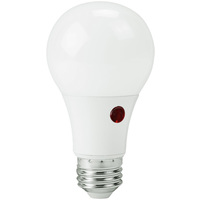 800 Lumens - 60W Incandescent Equal - LED - A19 with Built-In Photocell - 2700 Kelvin - Soft White  - MaxLite 100847