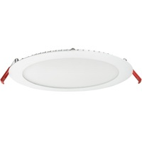 3 Fixtures in 1 - 8 in. Ultra Thin LED Downlight - Color Selectable 2700K, 3000K, or 3500K - 20 Watt - 1800 Lumens - Replaces 100 Watt Incandescent - 120 Volt - Lithonia WF8