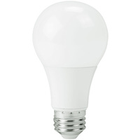 750 Lumens - 9 Watt - 60W Incandescent Equal - LED - A19 - 5000 Kelvin Daylight White - Dimmable - PLTL61114