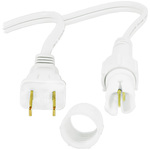 1/2 in. - Incandescent Rope Light Power Cord and Connector Image